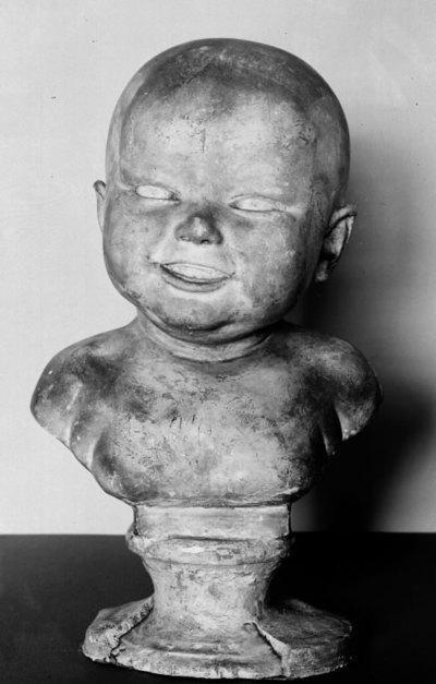 Lille dreng; Johannes Saabye, kunstnerens søn