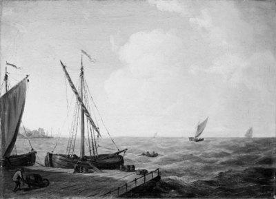 Marine. Udsigt over Øresund
