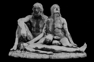 Adam and Eve with the Dead Abel
