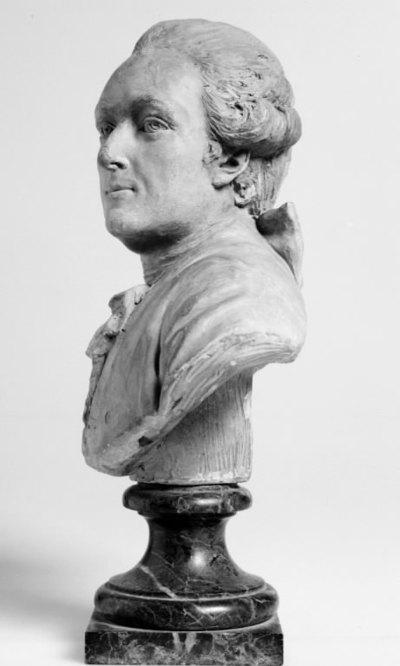 Bust of Abel Francois de Vaudières, Marquis de Marigny (1727 -1781)