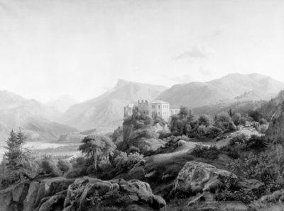 The Ruins of Hasselberg Castle near Bolzano. Tyrol