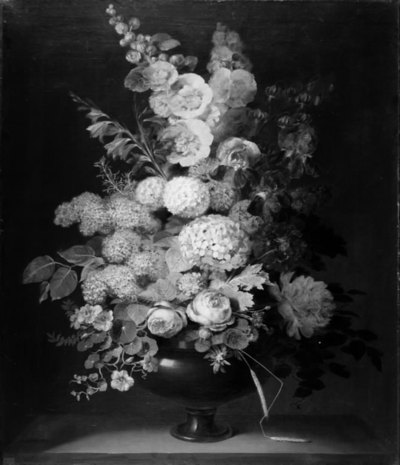 Image from object titled En vase med blomster