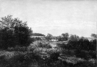 Landscape with a Cottage beside a Pond