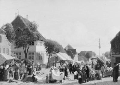 En markedsdag i Fredericia