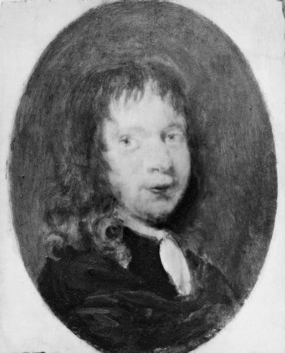 Miniatureportræt af en yngre mand
