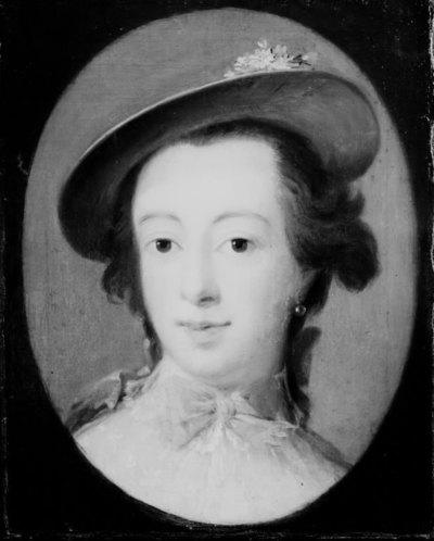Dameportræt, kaldet frøken Sneedorf