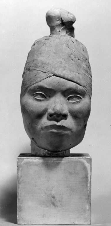 Head of a Greenlandic Woman