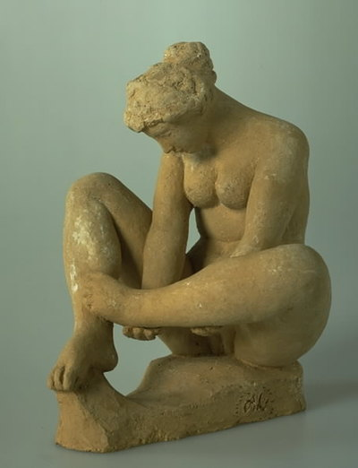 Seated Naked Girl