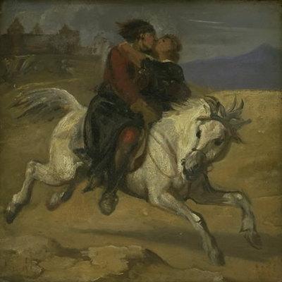 En bortførelsesscene