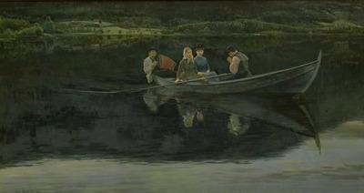 Midsummer's Eve in Norway