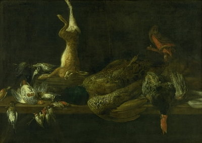 Still Life with Game on a Table