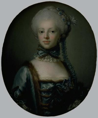 Portrait of Countess Eleonora Agnes Scheel, neé Raben