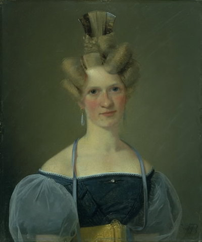 Marie Raffenberg, the Artist's Betrothed