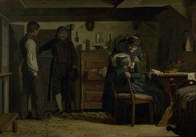 The Village Carpenter Bringing a Coffin for a Dead Child