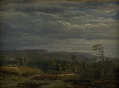 A View of a Wooded Landscape in Jutland