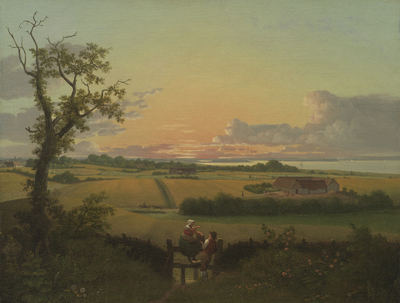 Landscape with a Stile. The Isle of Møn