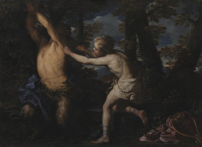 Apollo Flaying Marsyas