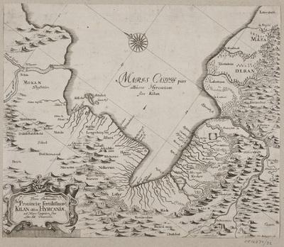 Kort Over Det Kaspiske Hav