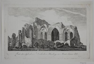 Domkirken i Hamburg i Ruiner