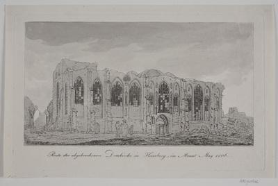 Domkirken i Hamburg i Maj 1806