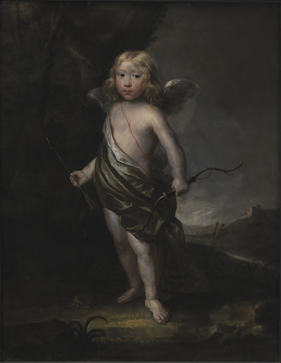 Portrait of a Noble Boy in Cupid's Costume