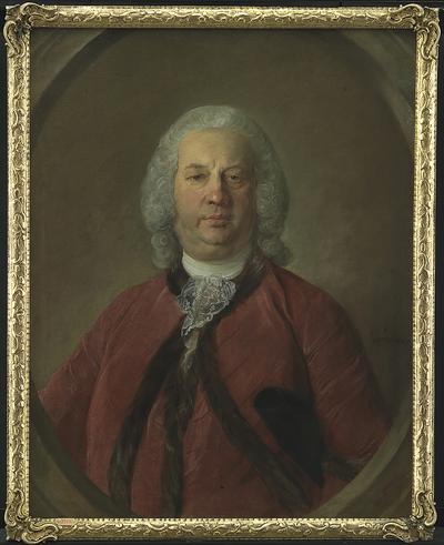 Portrait of Frederik Hansen de Liliendal, Danish Consul at Bordeaux