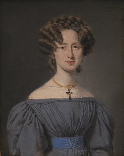 Cecilie Lønborg, gift 1830 med skibsintendant Theodor Emil Ludvigsen