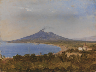 Image from object titled The Gulf of Naples with Vesuvius