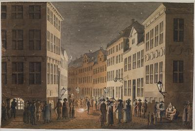 Parti af Østergade set fra Kongens Nytorv.