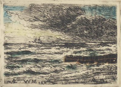 Storm ved Tisvilde