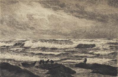 Storm. Skagen