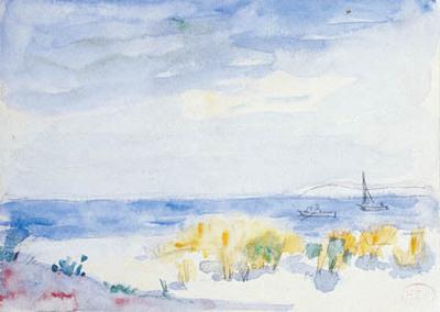 Kystlandskab.; Paysage maritime.