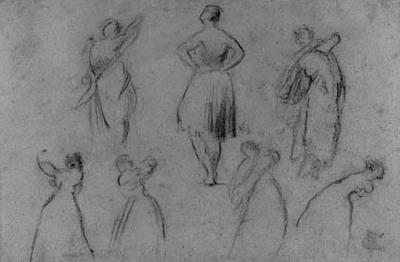 Syv studier af dansere.