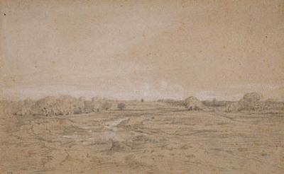 Image from object titled Landskab med vandhul (Berri)