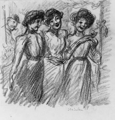 Tre piger