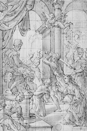 The martyrdom of the Maccabees (?)