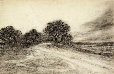 Landskab med træer