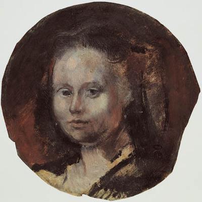 Image from object titled Portræt af Léonie Patou.