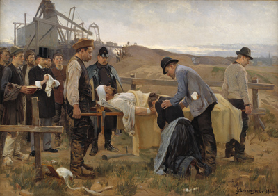 A Wounded Workman