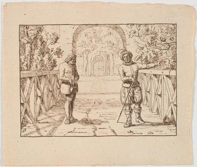 Illustration til St. St. Blicher, De tre Helligaftener