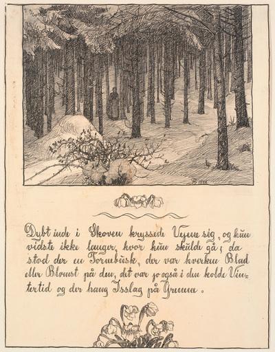Dybt inde i Skoven krydsede Vejene sig...; Historien om en Moder. 7