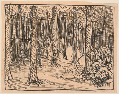 Dybt inde i Skoven krydsede Vejene sig...