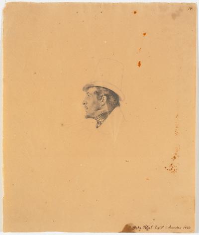 Portræt af maleren Joseph Petzl