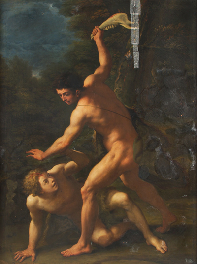 Image from object titled Cain Slaying Abel