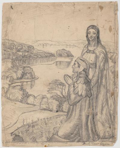Dante og Beatrice i Paradis