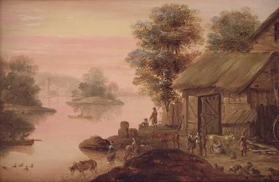 Landskab i hollandsk manér