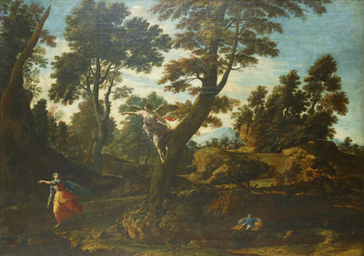 Landscape with the Angel Appearing to Hagar and Leading her to the Well