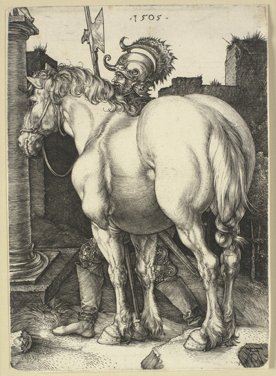 Image from object titled The large horse