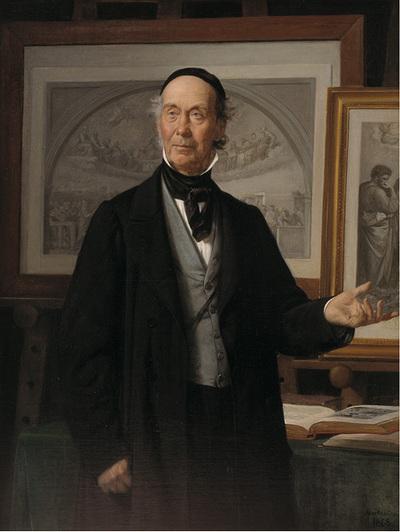 Kunsthistorikeren, professor N. L. Høyen