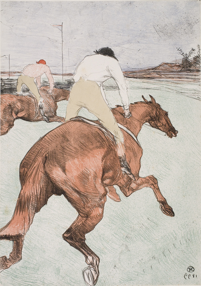 Image from object titled Le Jockey